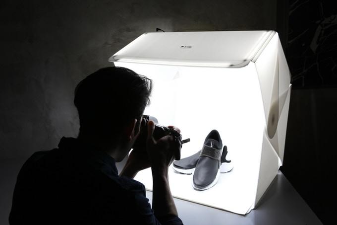 """Teaserbild für den Beitrag """"Foldio3 – Das Fotostudio für zu Hause"""""""