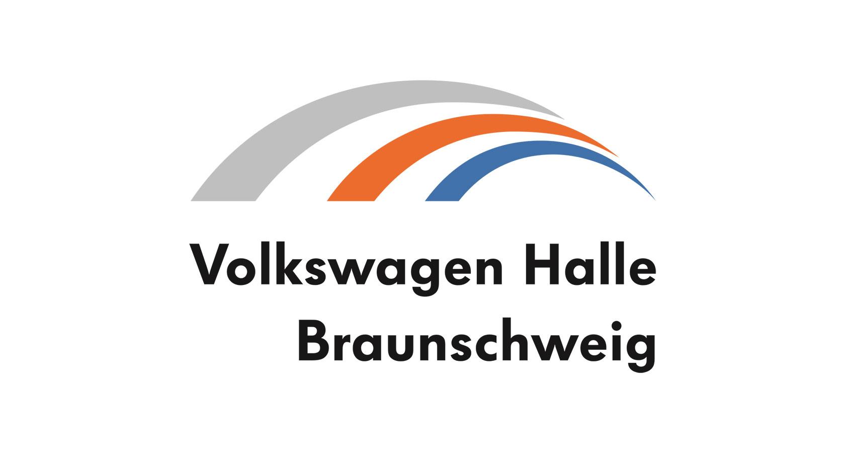Logo der Volkswagen Halle Braunschweig