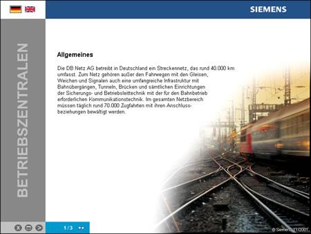 Screenshot Multimedia Präsentation