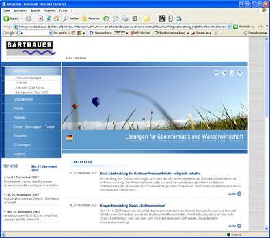 Screenshot 4 Relaunch Barthauer Software GmbH