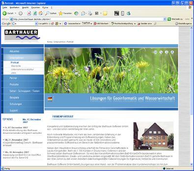 Screenshot 3 Relaunch Barthauer Software GmbH