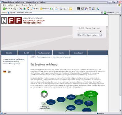 Screenshot 2 NFF Website