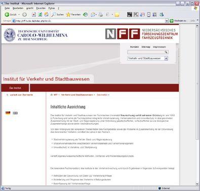 Screenshot 3 NFF Website