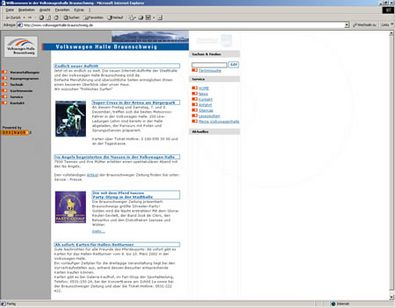 Screenshot 1 Website