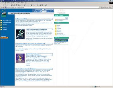 Screenshot 1 Website