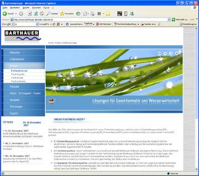 Screenshot 2 Relaunch Barthauer Software GmbH