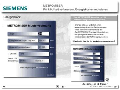 Screenshot 3 Messepräsentation